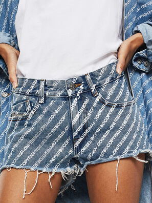 DE-RIFTY, Azul medio - Shorts