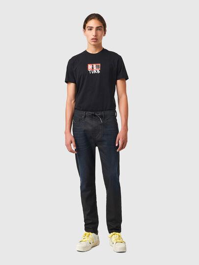 Diesel - D-VIDER JoggJeans® 069XN, Negro/Gris oscuro - Vaqueros - Image 5