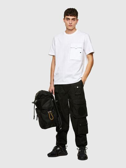 Diesel - T-WORKAN, Blanco - Camisetas - Image 5