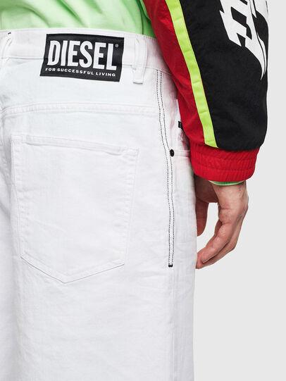Diesel - D-BRON, Blanco - Shorts - Image 3