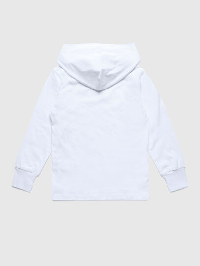 Diesel - TDIEGOHOODS3 ML, Blanco - Camisetas y Tops - Image 2