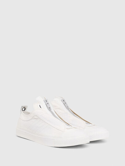 Diesel - S-ASTICO LOW ZIP SP, Blanco - Sneakers - Image 2