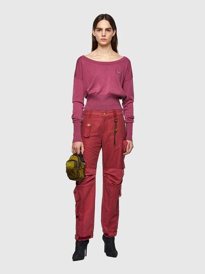 Diesel - P-GIULIA, Rosa - Pantalones - Image 5