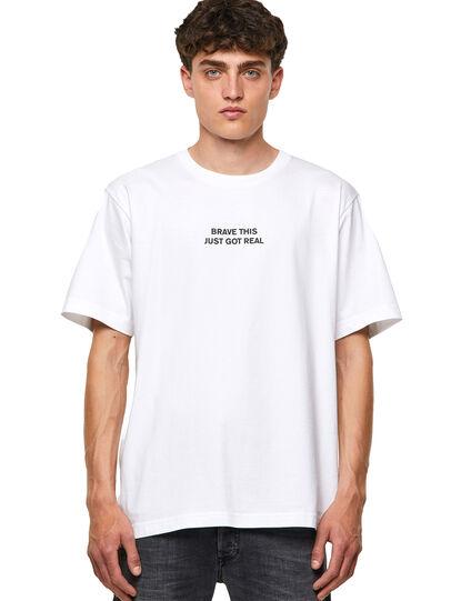 Diesel - T-TUBOLAR-B3, Blanco - Camisetas - Image 1