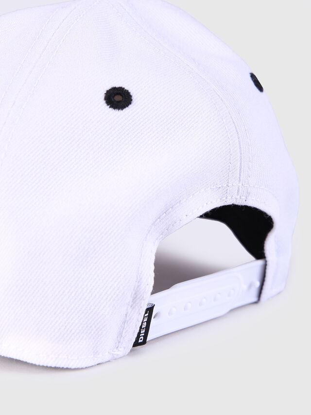 Diesel - CAKERYM, Blanco - Gorros, sombreros y guantes - Image 3