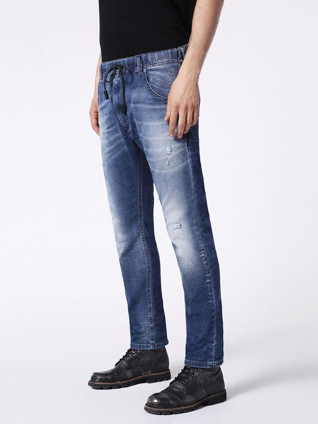 Diesel - KROOLEY JOGGJEANS 0683R, Blue Jeans - Vaqueros - Image 7