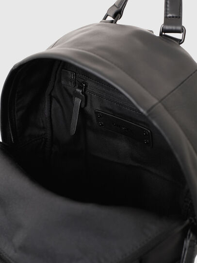 Diesel - LE-ZIPPER BACKPACK, Negro - Mochilas - Image 6