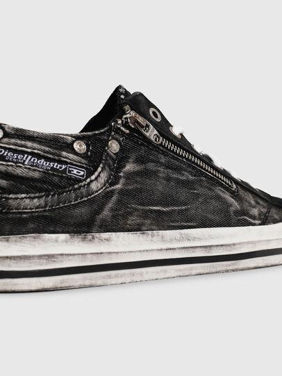 Diesel - EXPO-ZIP LOW, Negro - Sneakers - Image 4