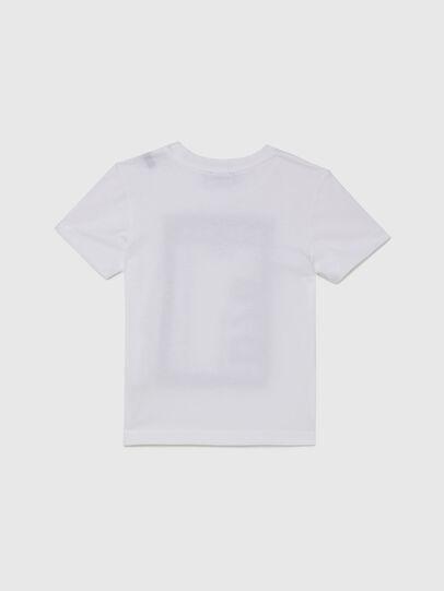 Diesel - TFULL78B-R, Blanco - Camisetas y Tops - Image 2