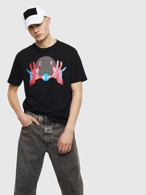 T-JUST-T26, Negro - Camisetas