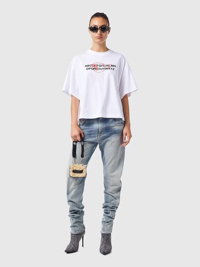 Diesel - T-BOWXY-B1, Blanco - Camisetas - Image 4