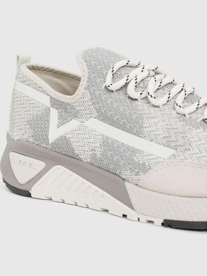 Diesel - S-KBY, Gris/Blanco - Sneakers - Image 4