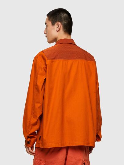 Diesel - S-GUNN-LS, Naranja - Camisas - Image 2
