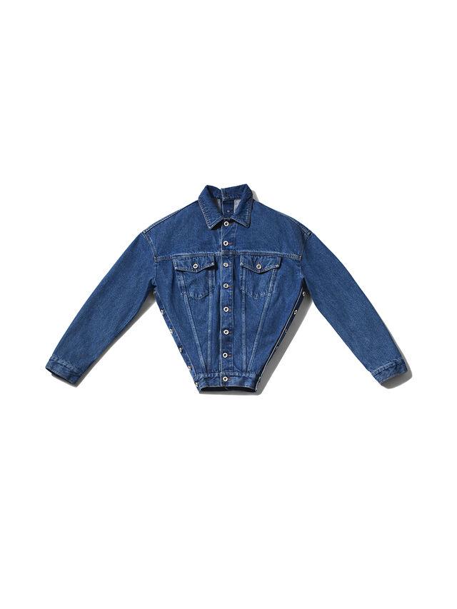 Diesel - GMJK02, Blue Jeans - Chaquetas - Image 1