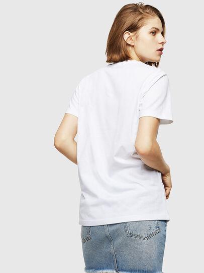 Diesel - T-FOIL, Blanco - Camisetas - Image 2