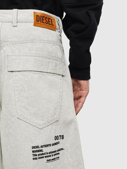 Diesel - D-RON, Blanco - Shorts - Image 6