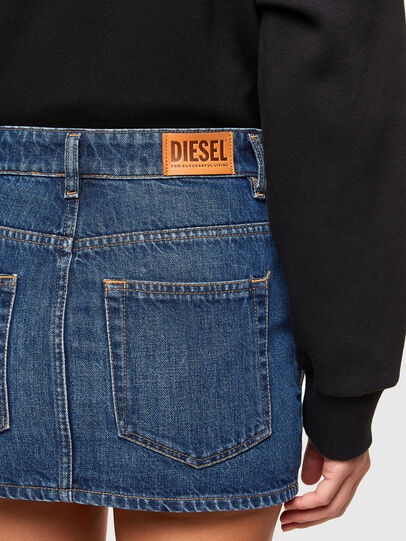 Diesel - DE-EISY, Azul medio - Faldas - Image 4