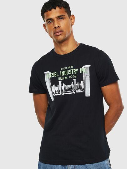 Diesel - T-DIEGO-S13, Negro - Camisetas - Image 1