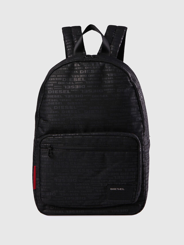 Diesel F-DISCOVER BACK, Negro/ Rojo - Mochilas - Image 1