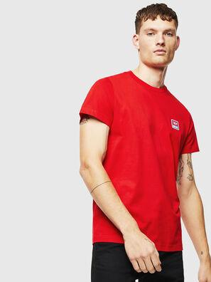 T-DIEGO-DIV, Rojo - Camisetas
