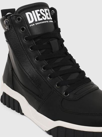 Diesel - S-RUA MID W, Negro - Sneakers - Image 4