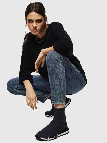 Diesel - H-PADOLA HIGH SOCK W, Negro - Sneakers - Image 5
