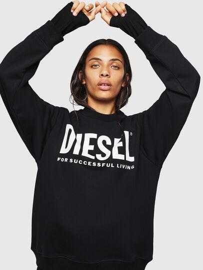Diesel - F-ANG, Negro - Sudaderas - Image 5