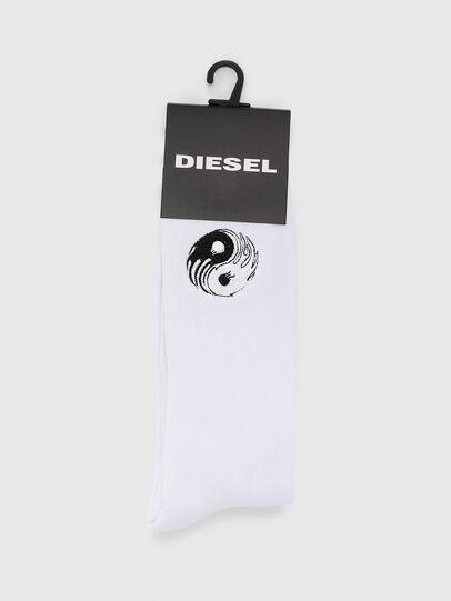 Diesel - SKM-RAY, Blanco - Calcetines - Image 2