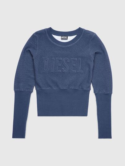 Diesel - UFLT-WILLAS-DW, Azul - Sudaderas - Image 1