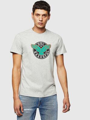 T-DIEGO-B5, Gris Claro - Camisetas