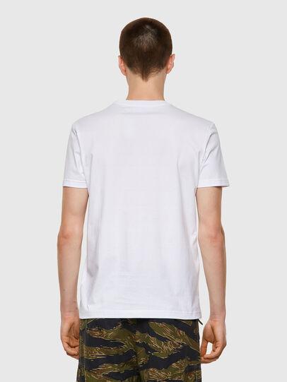 Diesel - T-DIEGOS-B3, Blanco - Camisetas - Image 2