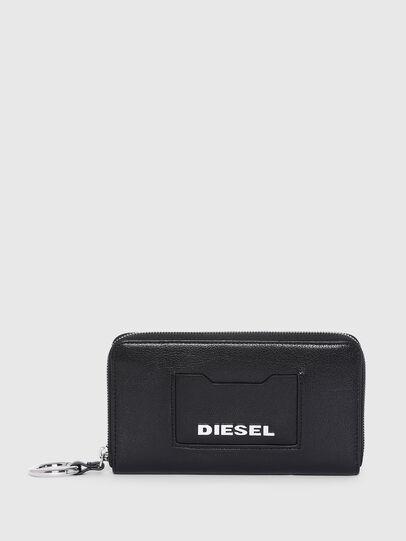 Diesel - GRANATO LC, Negro - Carteras Con Cremallera - Image 1