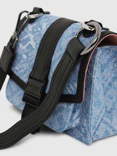 Diesel - MISS-MATCH CROSSBODY, Blue Jeans - Bolso cruzados - Image 5