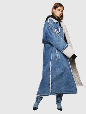 DE-VALY, Azul medio - Chaquetones de invierno