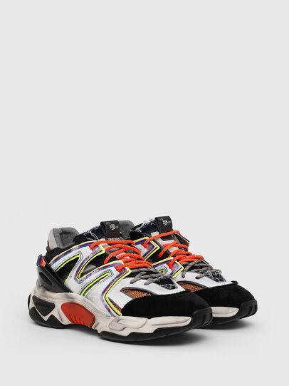 Diesel - S-KIPPER SK, Blanco/Negro - Sneakers - Image 2