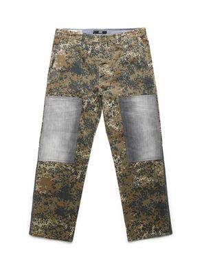 D-ONT-HURT-ME, Verde Camuflaje - Pantalones