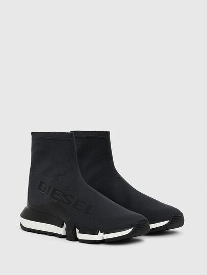Diesel - H-PADOLA HIGH SOCK W, Negro - Sneakers - Image 2