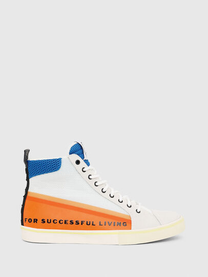 Diesel - S-DVELOWS MID, Blanco/Naranja - Sneakers - Image 1