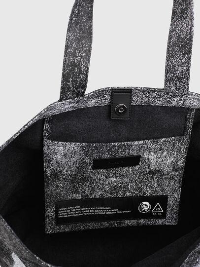 Diesel - D-THISBAG SHOP MB, Gris/Negro - Bolsos Shopper y Al Hombro - Image 4