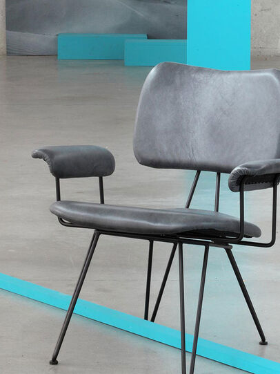 Diesel - OVERDYED LEATHER LOUNGE ,  - Furniture - Image 1
