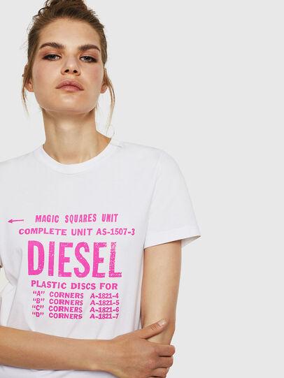 Diesel - T-SILY-ZF, Blanco - Camisetas - Image 3