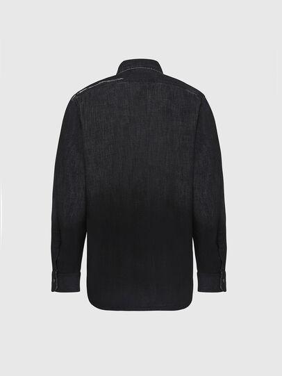 Diesel - D-NESKY, Negro - Camisas de Denim - Image 2