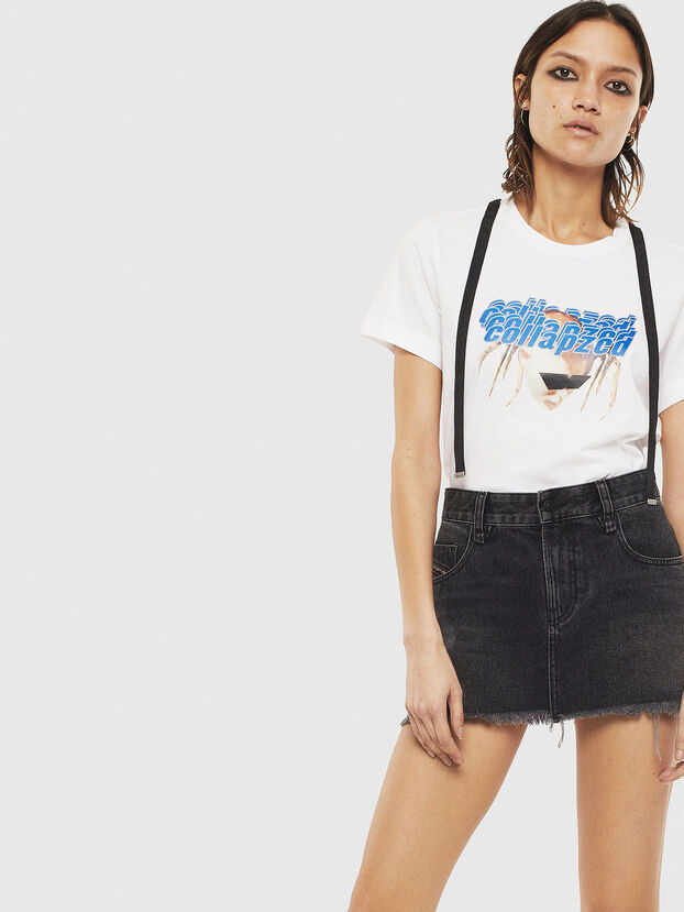 T-SILY-S3, Blanco - Camisetas