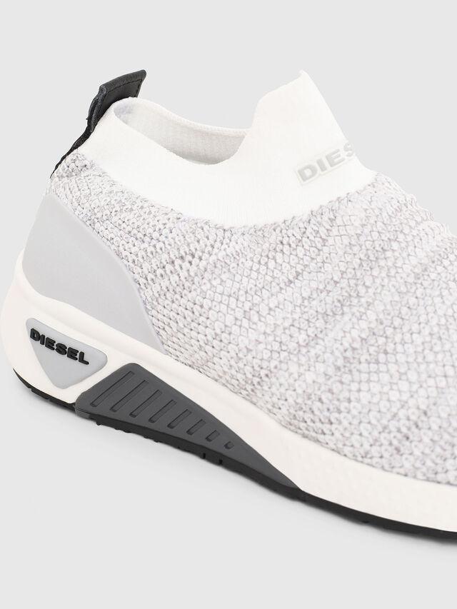 Diesel - S-KB ATHL SOCK W, Gris Claro - Sneakers - Image 4