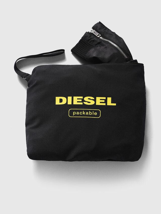 Diesel J-FOLLYER, Negro - Chaquetas - Image 3