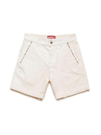 Diesel - GR02-P303, Blanco - Shorts - Image 1