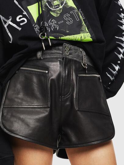 Diesel - L-FARA, Negro - Shorts - Image 1