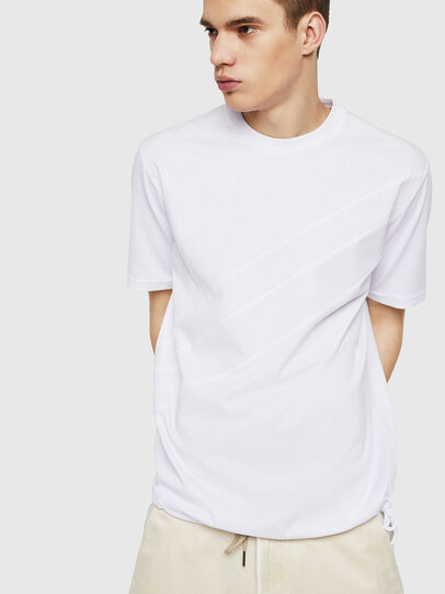Diesel - T-ALEKSEY, Blanco - Camisetas - Image 4