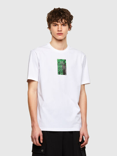 Diesel - T-JUST-E11, Blanco - Camisetas - Image 1