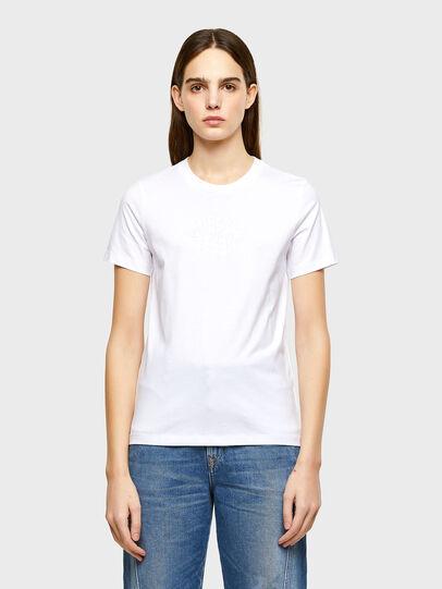 Diesel - T-SILY-K9, Blanco - Camisetas - Image 1